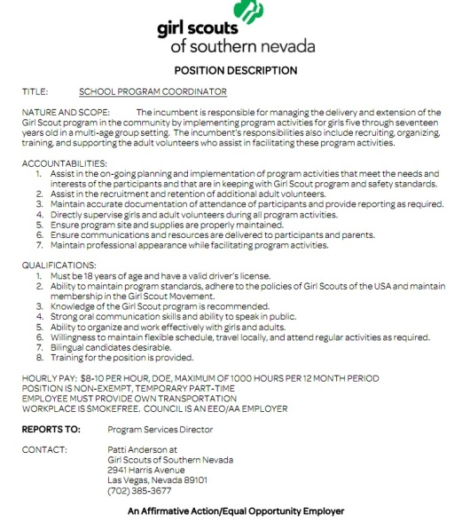 cover letter good example