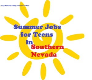 summer jobs for teens in so nv