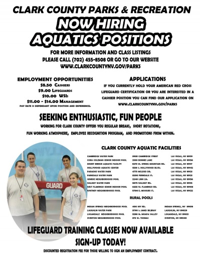 clark county lifeguard jobs
