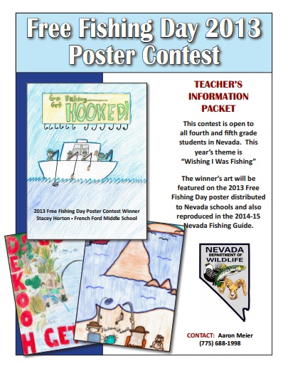 fishing day poster contest 2013