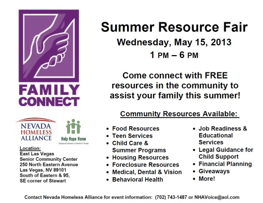 summer resource fair