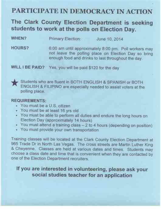 pg1 student election workers